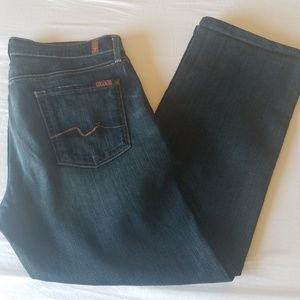 Mens 7 for all mankind denim